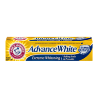 Arm & Hammer Advance Extreme White Stain Defense Fluoride Toothpaste with Baking Soda and Peroxide 6.0oz PKG