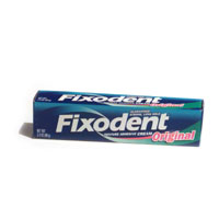 Fixodent Dental Adhesive Original 2.4oz. PKG