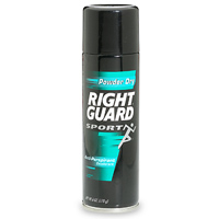 Right Guard Sport Deodorant Anti-Perspirant Powder Dry 6oz Can