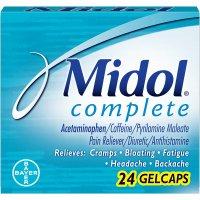 Midol Menstrual Complete Acetaminophen 500mg Gelcaps 24CT