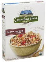 Cascadian Farm Hearty Morning Cereal 14.6oz Box