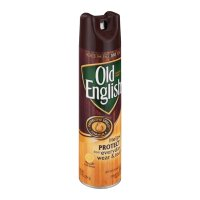 Old English Wood Polish with Lemon Oil Aerosol Spray 12.5oz Can