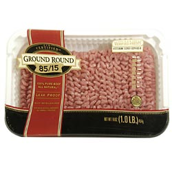 Ground Round 85% Lean 1LB PKG