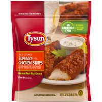 Tyson Chicken Strips Buffalo Frozen 25oz Bag