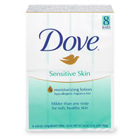 Dove Beauty Bar Sensitive Skin 8PK 4oz Bars