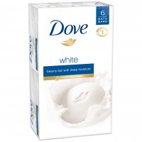Dove Beauty Bar White 6PK of 4oz Bars
