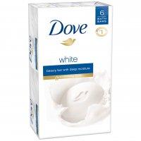 Dove Beauty Bar White 6PK of 4oz Bars product image