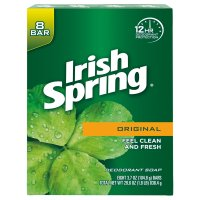 Irish Spring Bath Soap Original 8PK of 3.75oz Bars