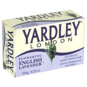 Yardley Bath Soap Flowering English Lavender 4.25oz Bar