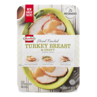 Hormel Sliced Roasted Turkey Breast & Gravy 15oz PKG product image