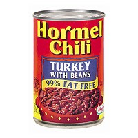 Hormel Chili Turkey with Beans 98% Fat Free 15oz Can