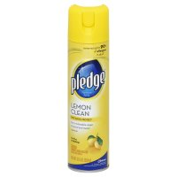 Pledge Furniture Polish Lemon Aerosol Spray 12.5oz Can