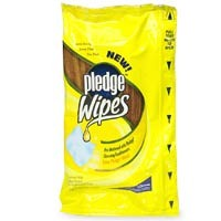 Pledge Disposable Furniture Polish Wipes Lemon 18CT PKG