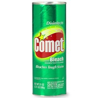 Comet Disinfectant Cleanser with Bleach 21oz Can