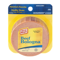 Oscar Mayer Bologna Beef Sliced 12oz PKG