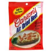 Carsons Dried Beef 3oz PKG