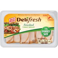 Oscar Mayer Ham Boiled Lean Sliced 6oz PKG