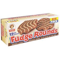 Little Debbie Fudge Rounds Big Pack 12CT 28.35oz Box