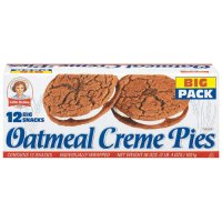 Little Debbie Oatmeal Creme Pies Big Pack 12CT 31.78oz Box