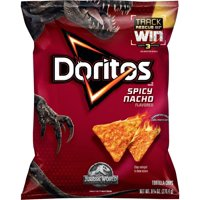 Doritos Tortilla Chips Spicy Nacho 11oz Bag