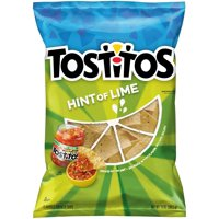 Tostitos Tortilla Chips Restaurant Style with Lime 13oz Bag product image