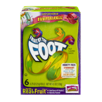 Betty Crocker Fruit By The Foot Variety Pack 6CT 4.5oz Box