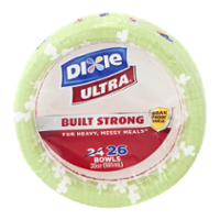 Dixie Bowls Paper 20oz. Each 26CT PKG