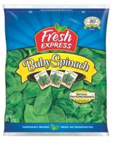 Fresh Express Baby Spinach 6oz Bag