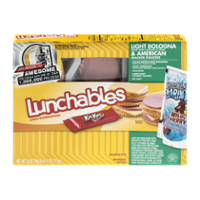 Lunchables Light Bologna & American Cheese w Capri Sun 8.8oz Box product image