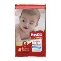 Huggies Little Snugglers Size 2 (12-18 LB) Jumbo Pack 32CT PKG