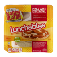 Lunchables Pizza with Pepperoni 3CT 4.3oz Box