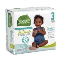 Seventh Generation Diapers Size 3 (16-28LB) 31CT PKG