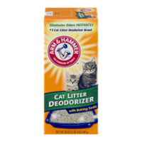 Arm & Hammer Cat Litter Deodorizer with Baking Soda 20oz Box