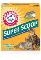 Arm & Hammer Super Scoop Cat Litter Clumping Fresh Scent 14LB Box