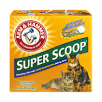 Arm & Hammer Super Scoop Cat Litter Clumping Fresh Scent 20LB Box product image