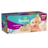 Pampers Cruisers Size 3 (16-28LB) 92CT Box