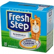 Fresh Step Scoopable Clumping Cat Litter Multiple Cat Formula 20LB Box