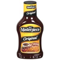 KC Masterpiece Original Barbecue Sauce 18oz BTL