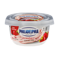 Philadelphia Cream Cheese Strawberry 8oz Tub product image