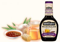 KC Masterpiece Honey Teriyaki  Marinade 16oz BTL