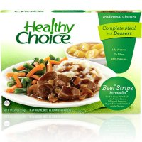 Healthy Choice Beef Strips Portobello 11.25oz PKG