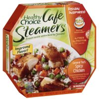 Healthy Choice Cafe Steamers General Tso's Spicy Chicken 10.8oz PKG