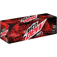 Mountain Dew Code Red 12 Pack of 12oz Cans