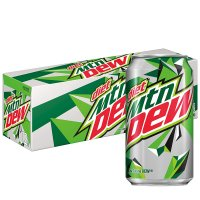 Mountain Dew Diet 12 Pack of 12oz Cans