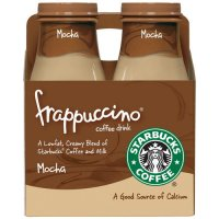Starbucks Frappuccino Mocha 4PK of 9.5oz Bottles