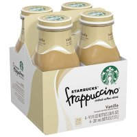 Starbucks Frappuccino Vanilla 4PK of 9.5oz Bottles