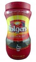Folgers Classic Roast Instant Crystals 12oz Jar