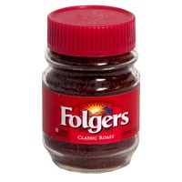 Folgers Classic Roast Instant Crystals 3oz Jar product image
