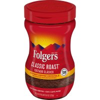 Folgers Classic Roast Instant Crystals 8oz Jar product image