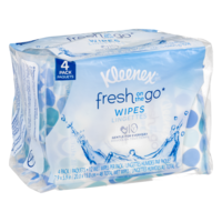 Kleenex Fresh on the Go Wipes for Face & Hands 48CT PKG product image